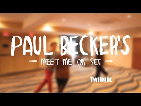 Paul Becker Choreographing Jackson Rathbone & Ashley Greene