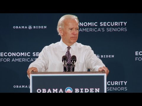 Vice President Joe Biden Speaks in Coconut Creek, Florida - Highlights