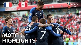 France v Peru - 2018 FIFA World Cup Russia™ - Match 21
