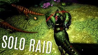 DON'T RUN OUT OF GAS!  Huge Solo Raid - Official PVP EP100! - ARK Survival