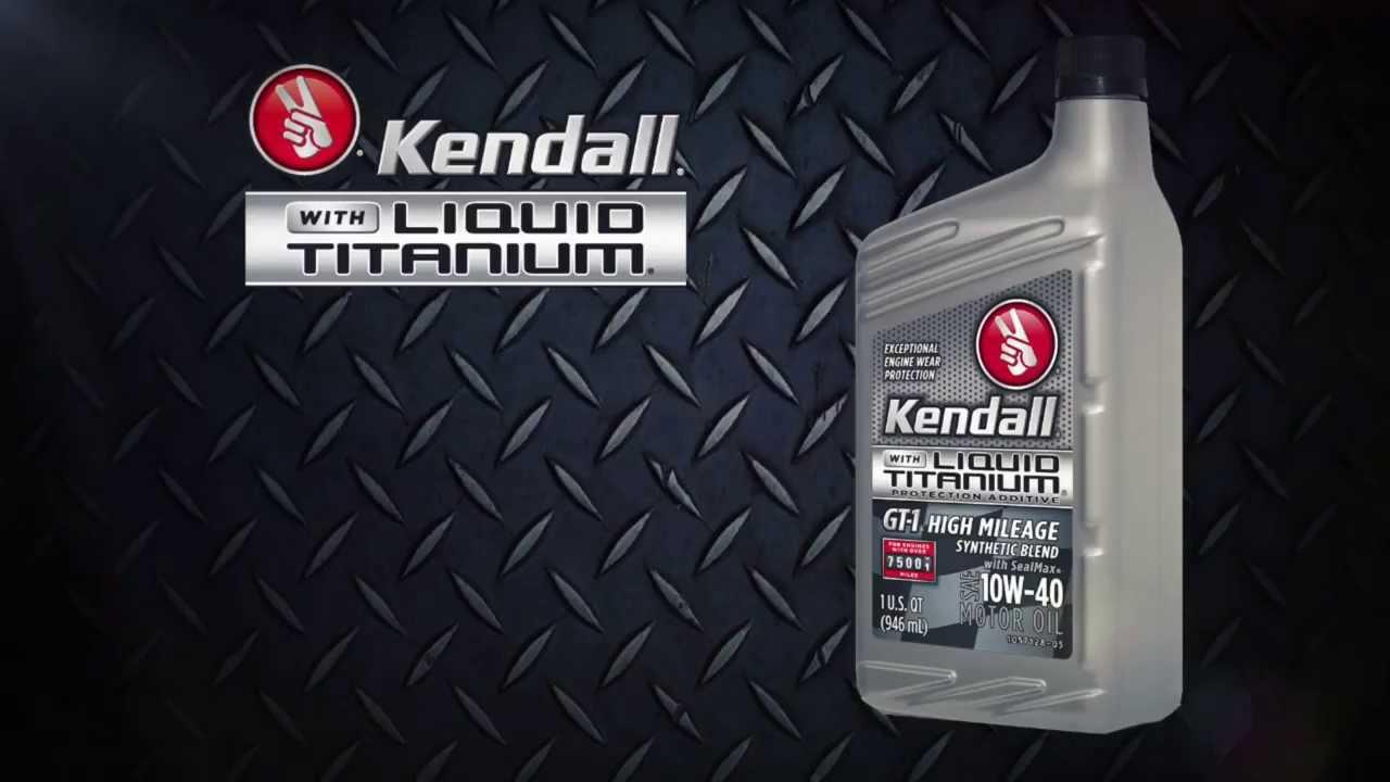 Kendall Motor Oil With Liquid Titanium Mood Film Youtube