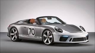 Porsche 911 Speedster Concept 2018 Slideshow