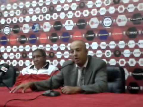 المؤتمر الصحفي لمدربي فريق المغرب التطواني وحسنية أكادير