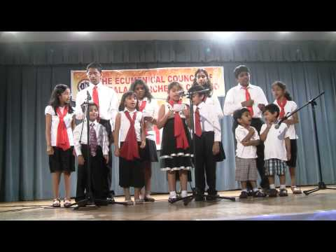 Kids Malayalam Group Song - May 2010 video