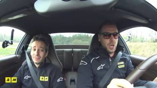 Porsche 911 Turbo S   Test drive #AMboxing [ENGLISH SUB]