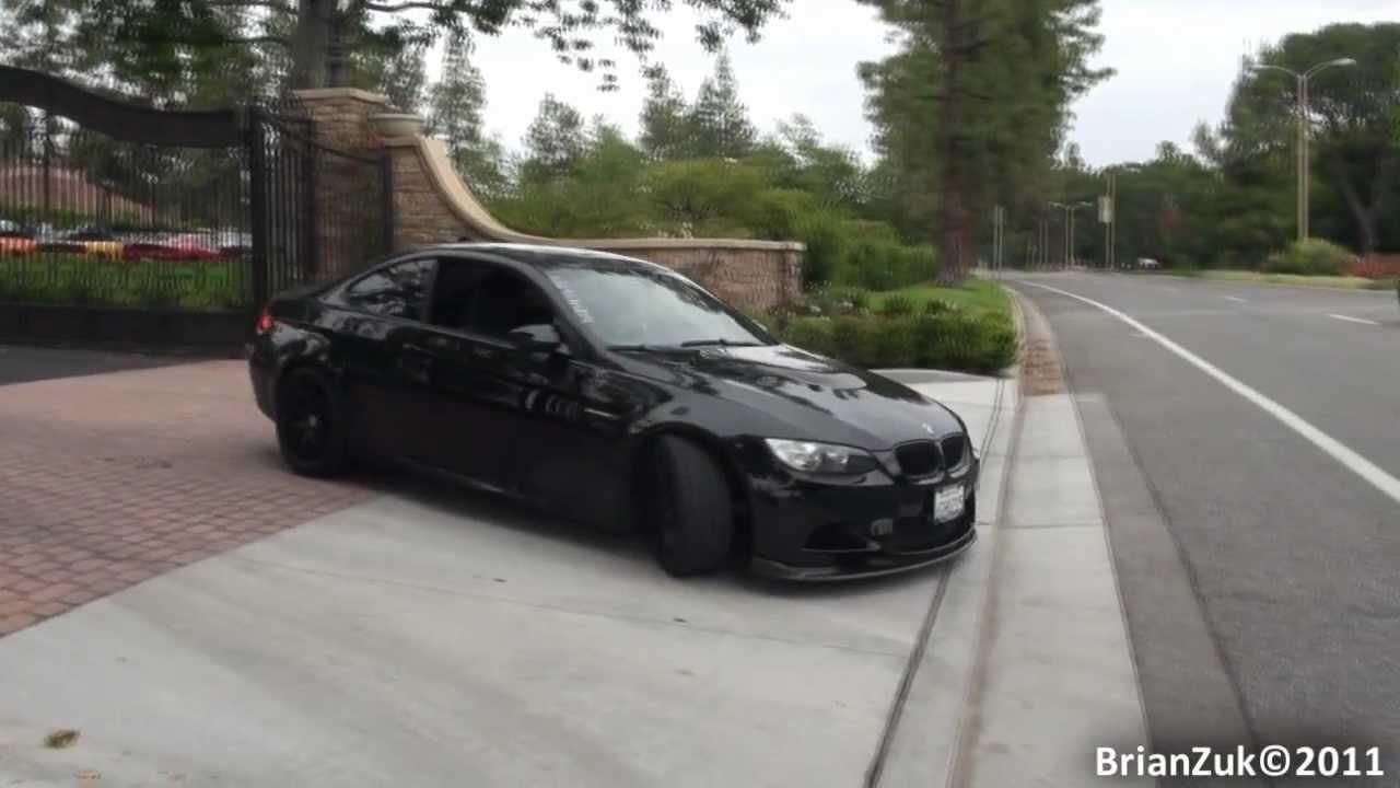 Bmw M3 E92 Black >> Modified BMW E92 M3 - YouTube