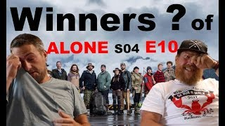 Fowler's Reaction to Winners of ALONE S04 E10 (History's Alone Season 4 Episode 10) Jim & Ted Baird