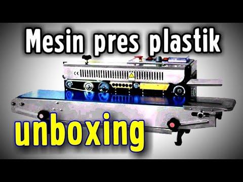 Mesin Pres Plastik Automatis Hualian FRB 770-I # Unboxing-Review