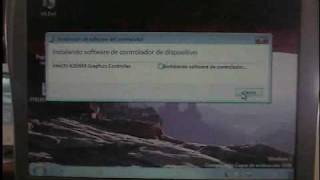 Dell C400 video instalacion  Win7 parte 3