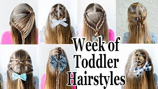 7 Quick and Easy Half up Toddler Hairstyles