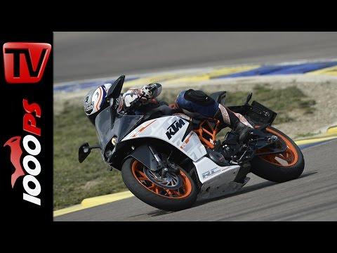KTM RC 390 Testvideo   Strasse - Rennstrecke - Fazit