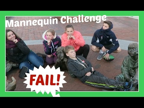 MANNEQUIN CHALLENGE FAIL | Flippin' Katie