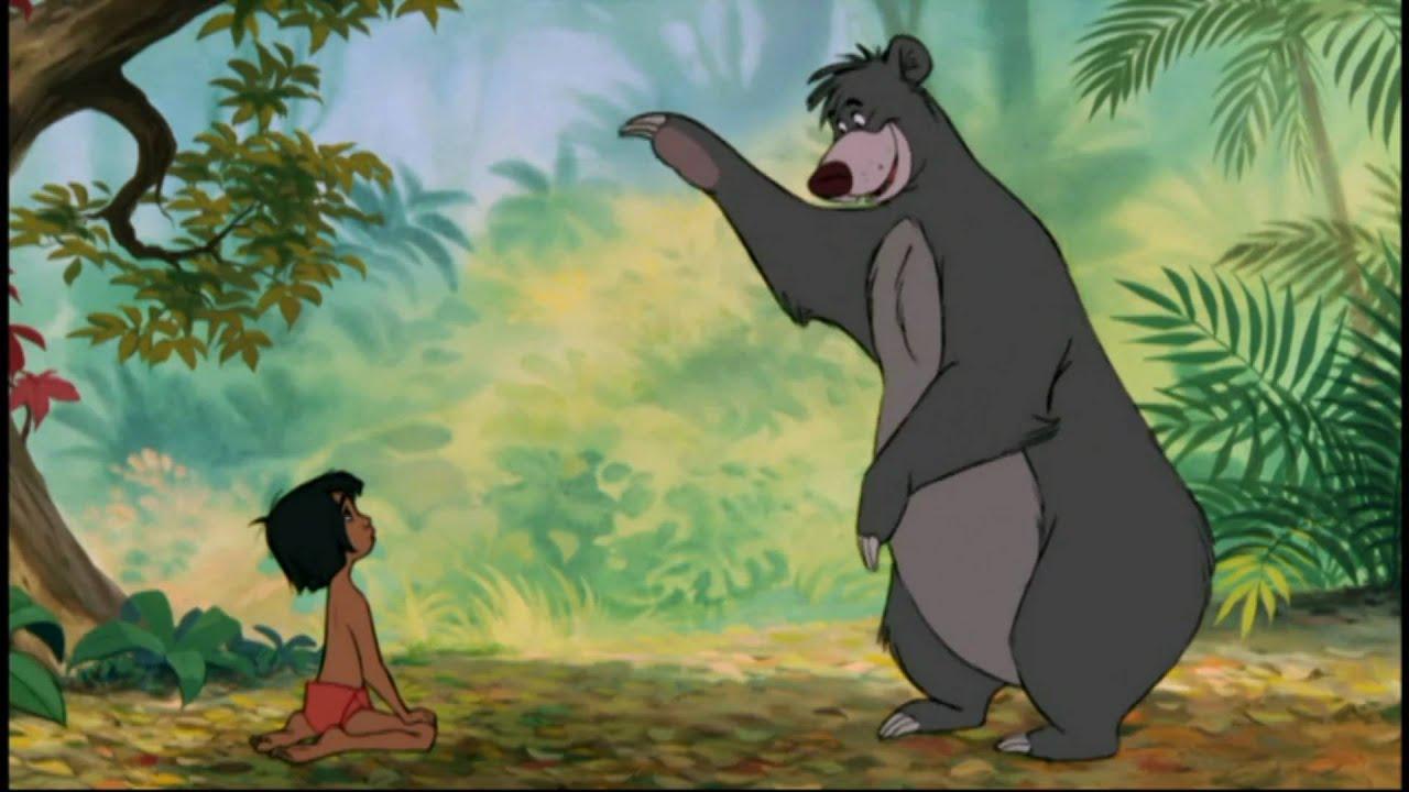 The Jungle Book- Bare Necessities (EU Portuguese) - YouTube