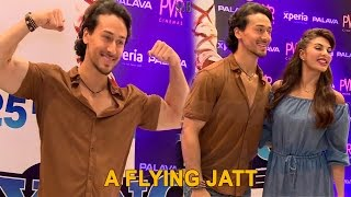 Hot Jacqueline Fernandez and Tiger Shroff at PVR - A Flying Jatt