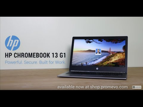 Introducing the All New HP Chromebook 13 G1