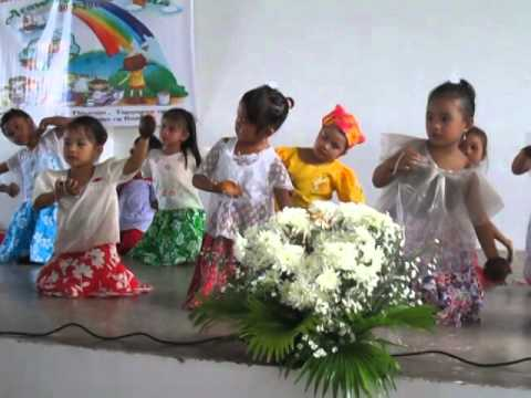 ~~folk Dance~~maglalatik~~ Malaya And Niogan Day Care Children video