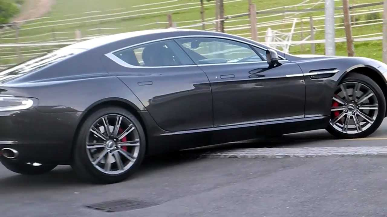 aston martin rapide  u0026quot 4 door  u0026quot  v12 de 477 cv  engine sound