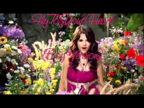 Selena Gomez - Fly To Your Heart (boy Version) video