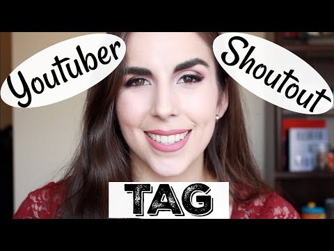 Youtuber Shoutout TAG | Beauty Channels I Watch & Recommend | Katie Marie