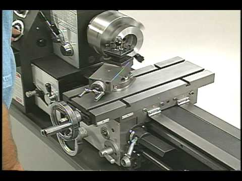 1.4 Machine Tool Basics -- Lathe Controls -- SMITHY GRANITE 3-in-1