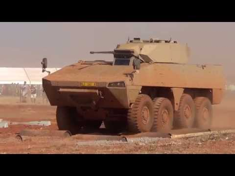 Patria AMV in Action