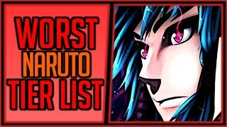 The Worst Naruto Tier List Ever
