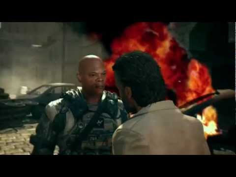 Samuel L Jackson in Black Ops 2