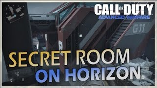 COD: Advanced Warfare - On top of and in Secret Room on Horizon