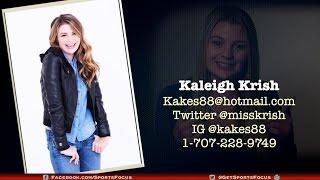 Kaleigh Krish  - Entertainment Host   Sports Reporter   On Camera Talent
