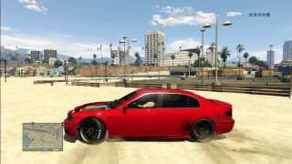 GTA 5 TERROR BEACH KILL STUNT BMW
