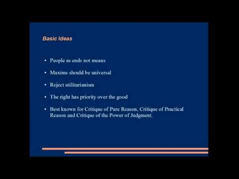 an analysis of kants critique of pure reason Kant's critique of pure reason reading guide kant is difficult to read as you read, try to focus on key ideas and arguments, and don't get.