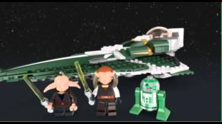 Saesee Tiin's Jedi Starfighter - LEGO STAR WARS - 9498 - Product Animation