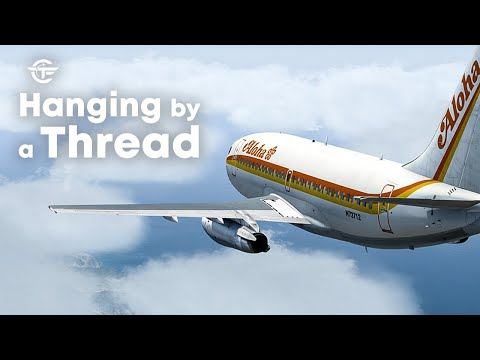 How These Pilots Landed a Roofless Boeing 737 | Hanging By A Thread | Aloha Airlines 243 | 4K