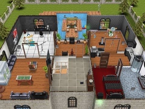 Sims FreePlay- Teen Idol Mansion