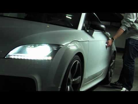 Driving the Audi TT RS (Full HD)