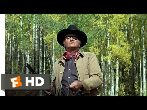 True Grit Movie Clip - watch all clips http://j.mp/zw4jsk click to subscribe http://j.mp/sNDUs5 Rooster (John Wayne) takes on Ned Pepper (Robert Duvall) and ...
