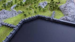Final Fantasy XI - West Ronfaure Scale Model