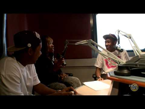 Tyler the Creator on The Cipha Sounds and Rosenberg Morning Show
