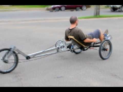 Viking Recumbent Tandem Trike First Test Ride