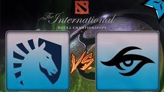 [PT-BR] Liquid vs Secret - Dota 2 The International 8 #ti8
