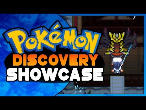Pokemon Discovery - Pokemon GBA ROM HACK showcase