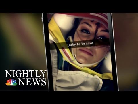 Lawsuit Blames Snapchat's 'Speed Filter' Over Georgia Crash | NBC Nightly News