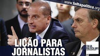 Onyx Lorenzoni dá forte lição sobre o Brasil, Paulo Guedes e o Governo Bolsonaro em coletiva de..