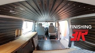 Vom Transporter zum Camper 2018 | Finishing