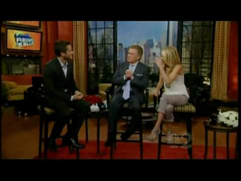 Jake Gyllenhaal On Live With Regis & Kelly (5.26.10) (Part 2) Video