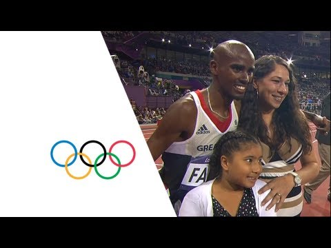 Mo Farah Wins 10,000m Gold   London 2012 Olympics