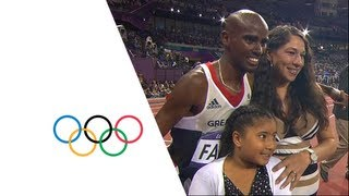 Mo Farah Wins 10,000m Gold - London 2012 Olympics