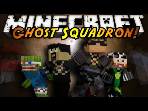 Minecraft Mini-Game : GHOST SQUADRON!