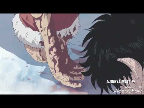The Most Emotional Death In Anime History, You Will Cry After Watching This.  Ace ''s Death