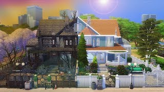 TWIN TERROR HOUSE │ The Sims 4 (Speed Build)